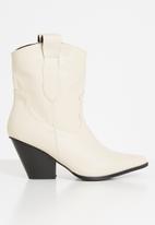 Z_Code_Z - Nathali cowboy boot - beige