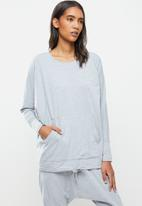STRONG by T-Shirt Bed Co. - Ladies oversized sweat - grey