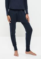STRONG by T-Shirt Bed Co. - Ladies harem pants - navy