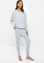 STRONG by T-Shirt Bed Co. - Ladies harem pants - grey