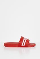 Ripstop - Slideman printed sliders - red