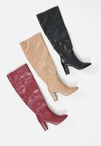 Superbalist - Jiyan knee-high boot - black