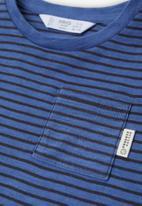 MANGO - Ivan long sleeve tee - medium blue