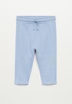 MANGO - Mires trousers - purple