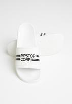 Ripstop - Slideman printed sliders - white
