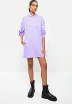 Blake - Hoodie dress - deep lilac