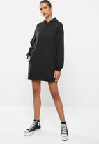 Blake - Hoodie dress - black