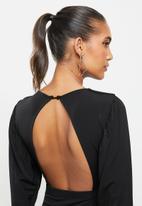 Blake - Blouson mini dress - black