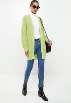 Glamorous - Balloon sleeve jumper- wasabi