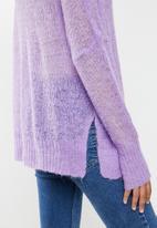 Glamorous - Lilac jumper- lilac