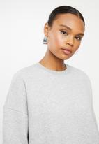 Missguided - Basic oversized sweat - grey