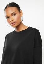 Missguided - Basic oversized sweat - black