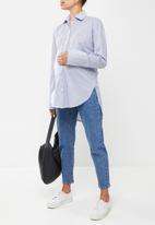 Superbalist - Oversized shirt - blue & white