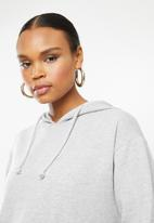 Missguided - Basic oversized hoodie - grey