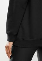 Missguided - Basic oversized hoodie - black
