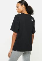 The North Face - W bf fine tee - black