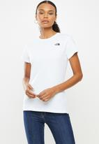 The North Face - W short sleeve simple dome tee - white