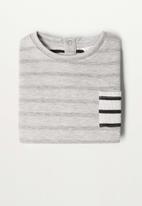 MANGO - Pepe sweatshirt - grey