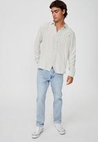 Cotton On - Cayman long sleeve shirt - ice grey
