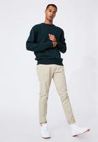 Cotton On - Crew knit - teal