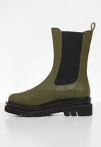 Z_Code_Z - Nora wider fit chelsea boot - olive