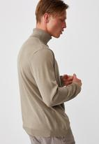 Cotton On - Roll neck sweater - taupe