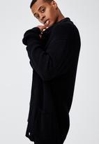 Cotton On - Shawl cardigan - black