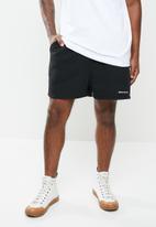 Jonathan D - Branded sweatshorts regular fit - black