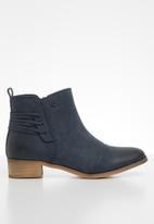 Miss Black - Clovis 2 ankle boot - navy
