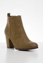 Miss Black - Alham 4 ankle boot - tan