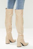 Z_Code_Z - Vitta knee high boot - neutral