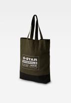 G-Star RAW - Canvas shopper - combat