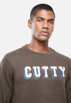 Cutty - Crew sweater - chocolate