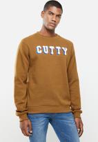 Cutty - Crew sweater - toffee
