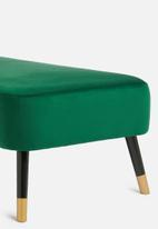 Present Time - Royal chaise lounge - green