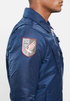 Cutty - Padded bomber jacket - navy