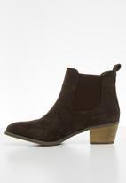 Jada - Western ankle boot - dark brown