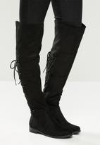 Miss Black - Dorota 3 over the knee boot - black