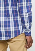 POLO - Ashley check long sleeve weekender shirt - multi