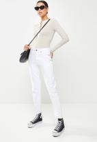 Glamorous - Contrast bodysuit - grey