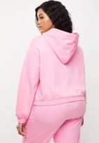 Blake - Cropped hoodie - candy
