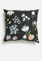 Sixth Floor - Flower garden cushion cover - multi