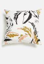 Sixth Floor - Cut-and-paste cushion cover - multi