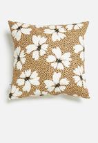 Sixth Floor - Daisy field cushion cover - multi