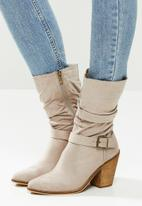 Miss Black - Rodeo boot - taupe