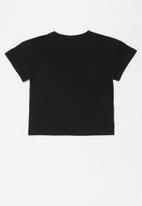 Lilylane - Allura printed tee - black