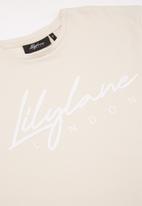 Lilylane - Allura printed tee - beige