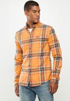 Superdry. - Heritage lumberjack shirt - sunset check