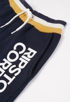 Ripstop - Showside jog shorts - navy