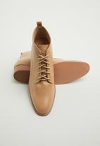 edit - Nandie lace-up boot - neutral